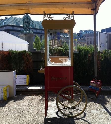 Popcornvagn Antik